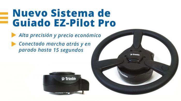 Nuevo sistema de guiado EZ-Pilot Pro de Trimble