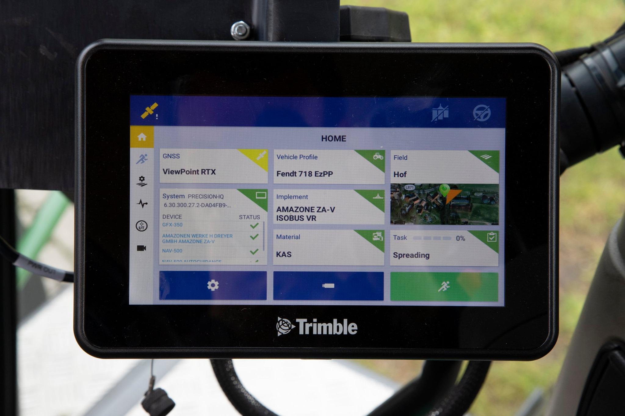 Nueva Trimble GFX-350