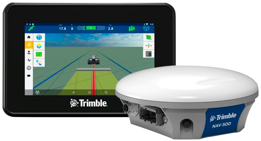 Trimble GFX-350 y NAV-500