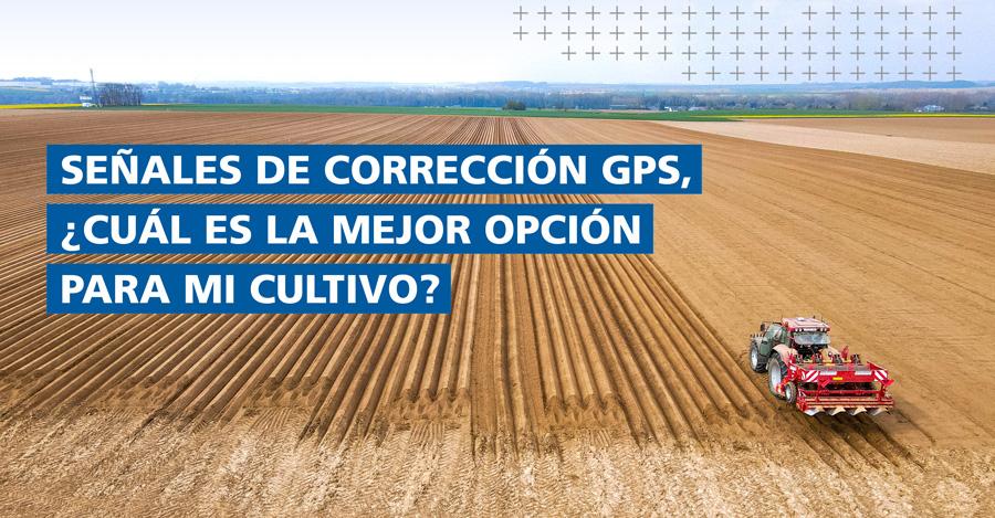 Señales de corrección GPS de Trimble